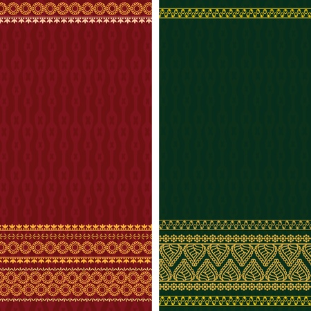 elaborate: Sari Design, very elaborate and easily editable