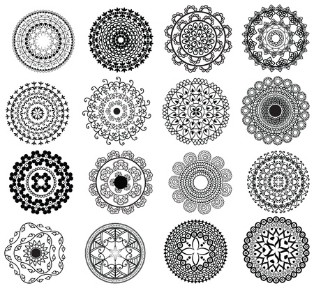Henna Mandala Designs Stock Vector - 10874921