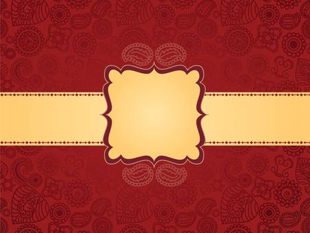 Antique Henna Banner
