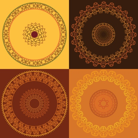 Colouful Mandala Design Vector