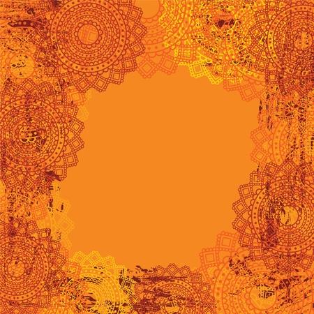 Mandala Background design Illustration