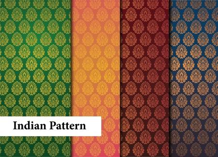 motive: Nahtlose indischen Patterns