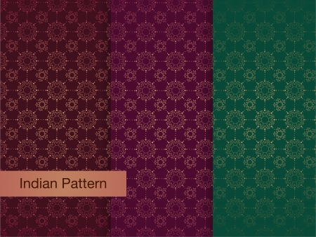 Asian Pattern - Detailed and easily editable Vector