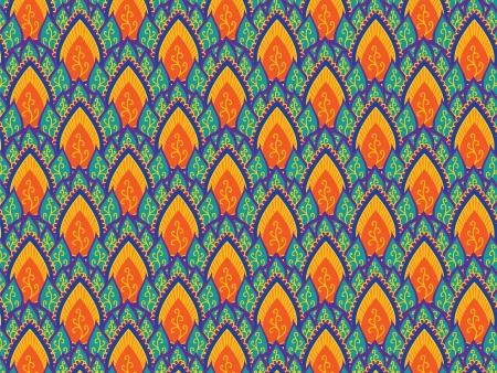 motif indiens: Mod�le indien - d�taill�e et facilement modifiable