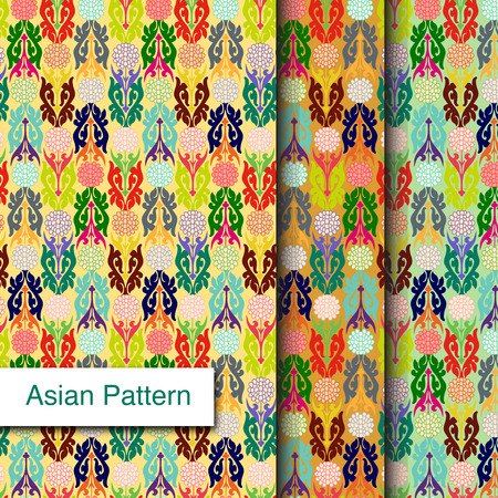 Indian Pattern - Detailed and easily editable Vector