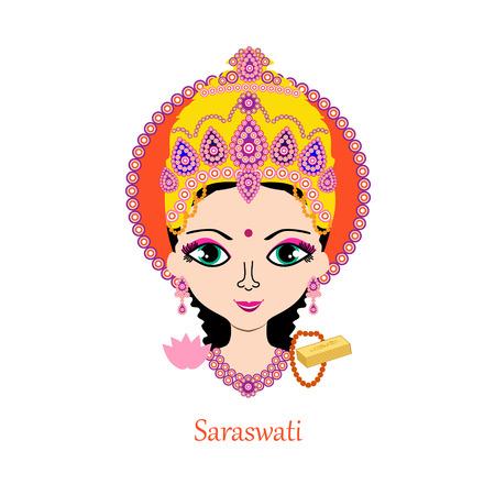 hinduismo: India - hindú Dios  Diosa Saraswati Saraswati es la diosa hindú del conocimiento, la música, las artes, la sabiduría y la naturaleza. Ella es una parte de la trinidad de Saraswati, Lakshmi y Parvati