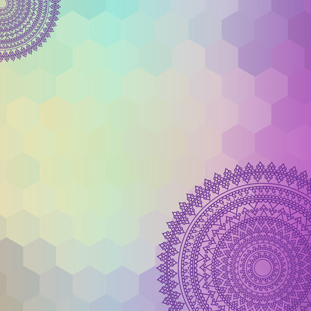 colorful henna wallpaper