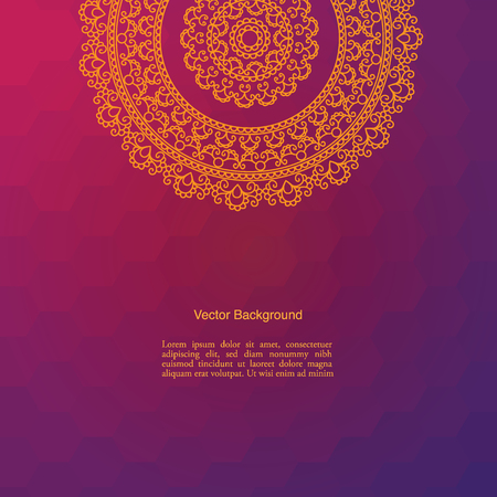 Colorful Mandala vector illustration set. Islam, Arabic, Asian, oriental, Indian, Turkish, Pakistan, Chinese, Moroccan, Ottoman motifs.