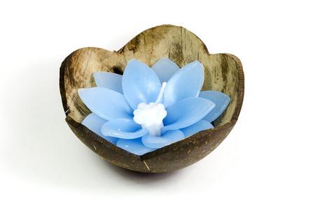 healthfulness: Floating Flower Candle