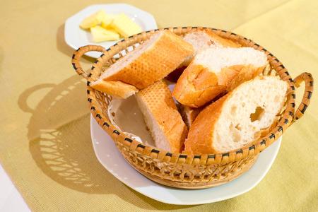 breadloaf: Bread in basket
