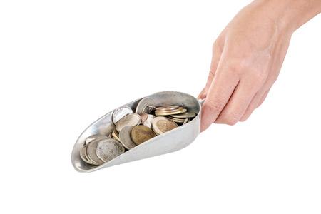 gold shovel: Shovel the money