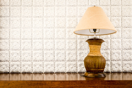 table lamp: table lamp on white background