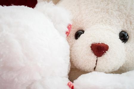 branded: Valentine Teddy bears non branded love Stock Photo