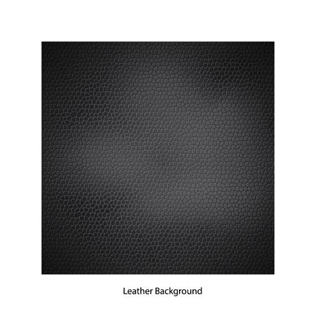 closeup: Closeup of black leather texture