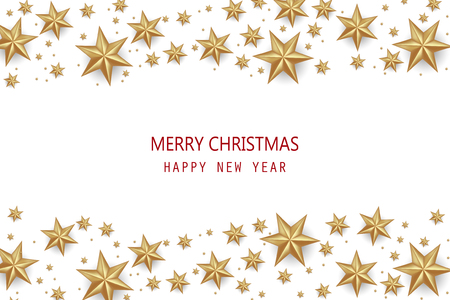Merry Christmas and Happy New Year Greeting Card Background. Reklamní fotografie - 108253181