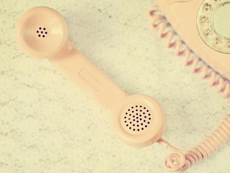 phone: Vintage Pink Telephone