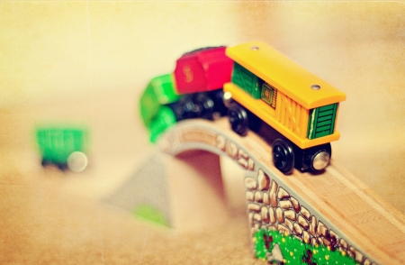 Trainset on track