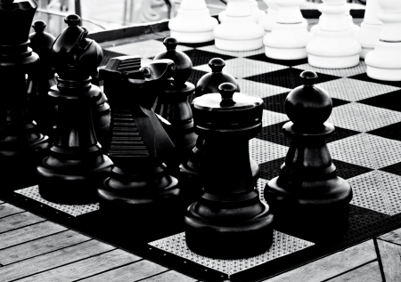 Large Chess Board Peices