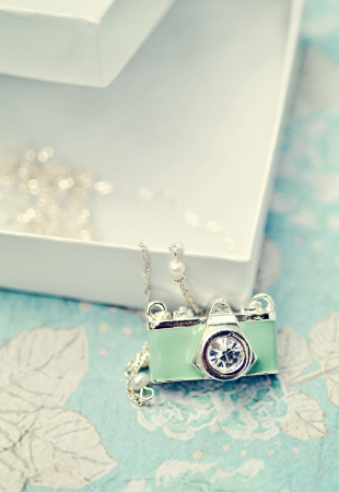Camera Necklace gift