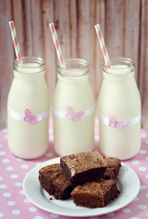 Brownies and Milk
