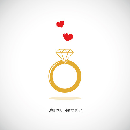 will you marry me wedding ring icon pictogram vector illustration EPS10 Vector Illustration