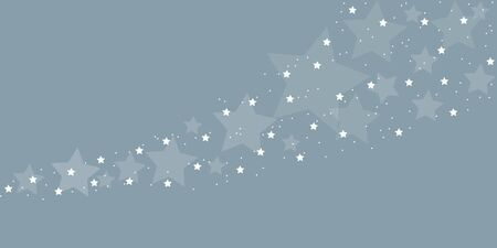 stardust on grey winter background vector illustration 写真素材 - 132782991