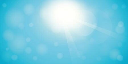 sunny sky background with copy space vector illustration EPS10 일러스트