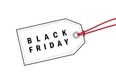 black friday promotion label vector illustration EPS10 向量圖像