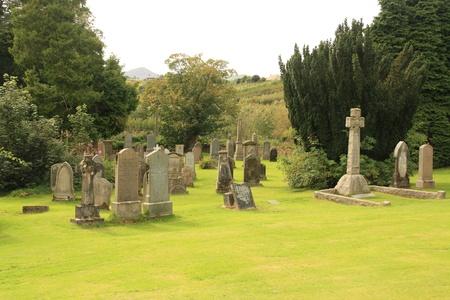 墓地 写真素材