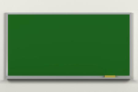 Blank CG chalkboard to write on