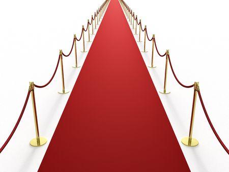 er�ffnung: Unendlich langen roten Teppich