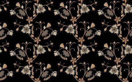 brawn: Brawn floral seamless