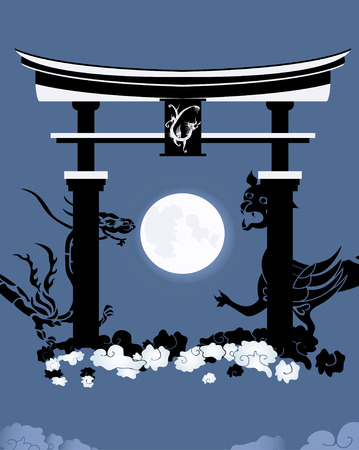 torii: Torii, gate in a kingdom of the dead