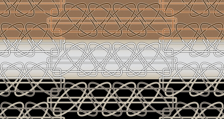 Celtic patterns seamless, vector illustration Stock Vector - 14238458