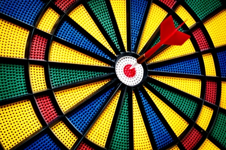 Arrow on the target Stock Photo - 8740748