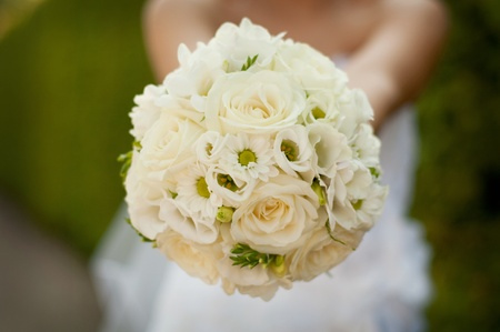 bridal bouquet: wedding bouquet Stock Photo