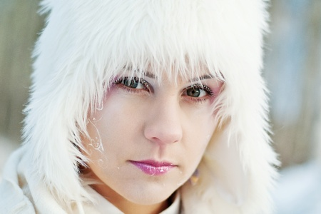 winter girl  Stock Photo - 11274695