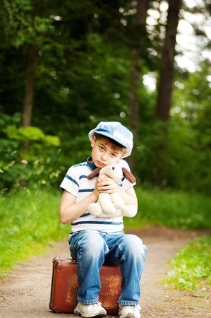 upset boy photo