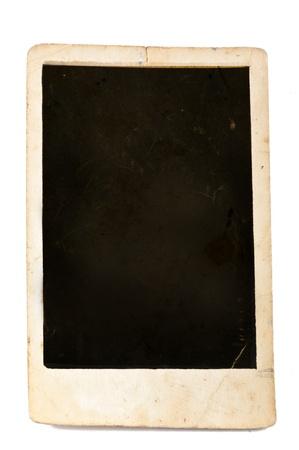 old photo on the white background Stock Photo - 12854314