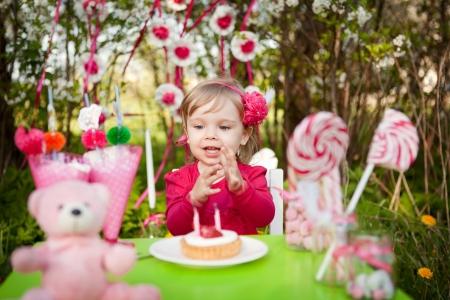 birthday of little girl photo