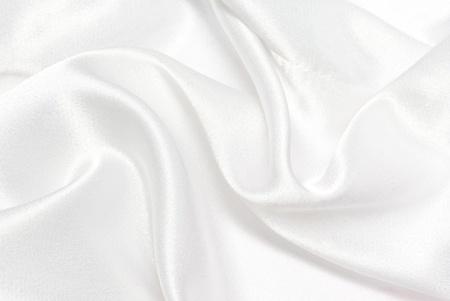 wit satijn achtergrond Stockfoto