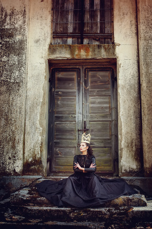 Dark queen Stock Photo