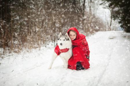 riding wolf: Ridding hood