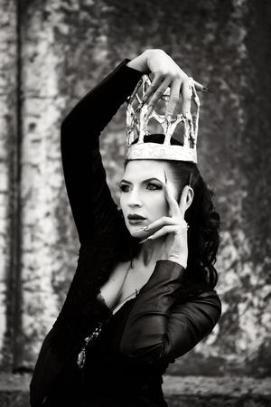 Dark queen from the fairytale.
