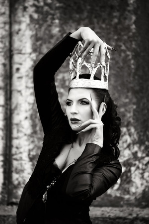 Dark queen from the fairytale.