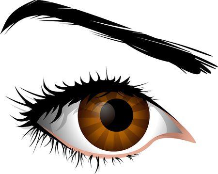 ser humano: Ser humano de ojos, hermosos ojos de las mujeres