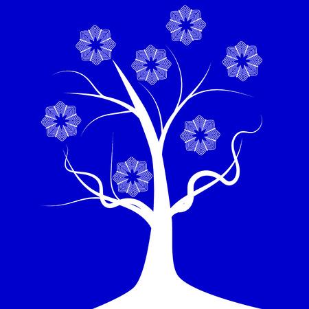 winter tree: Tree winter growth plant