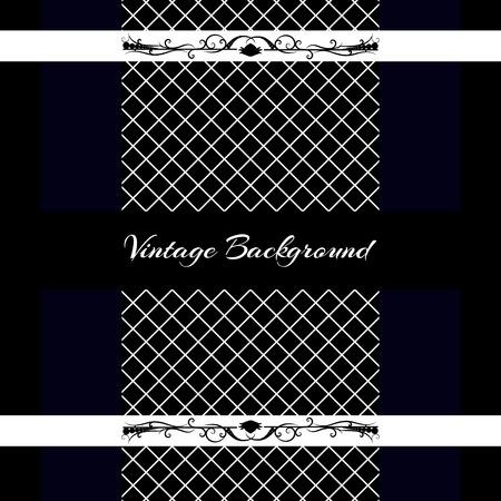 victorian frame: vintage background frame design black vector retro Illustration