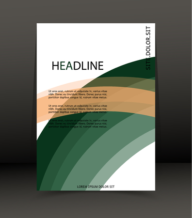 catalog: Abstract background for brochure, cover. Template for the poster. Vector. Illustration