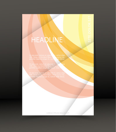 catalog: Abstract background for a brochure, cover, web. Template for the poster. Vector. Illustration